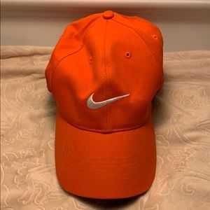 Women's Orange NIKE Cap MINT Condition